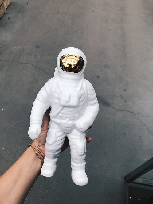 Astronaut white/gold