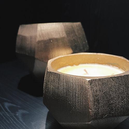 Gold Diamond candle