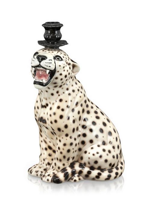 Cheetah Candle