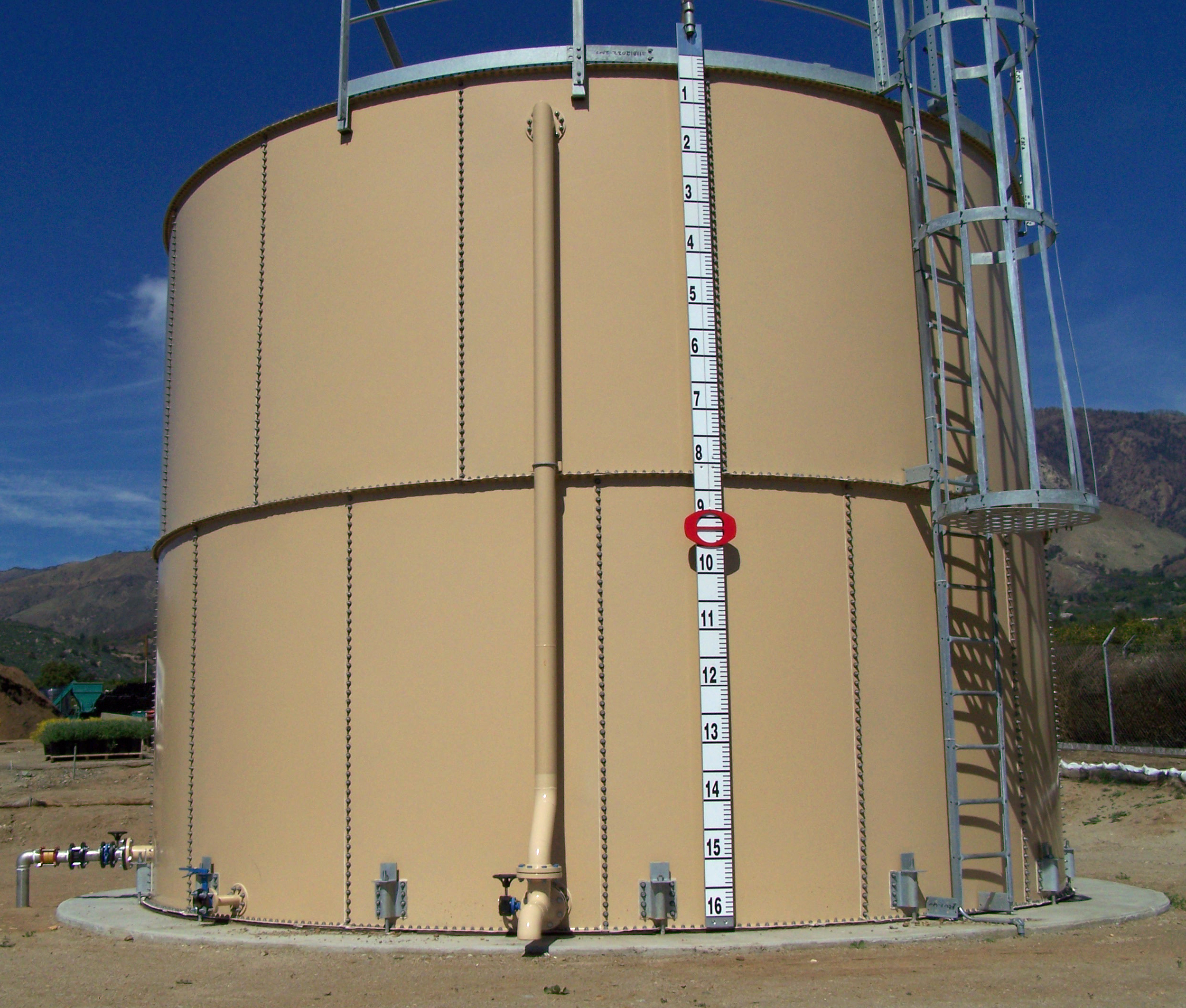 Domestic Water Holding Tank