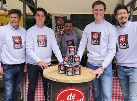 Kaasfondue in blik op Taste of Amsterdam 2019