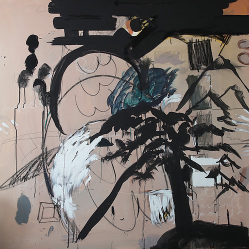 Alala 2018, painting on canvas