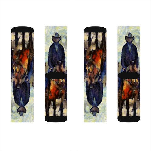 Sublimation Socks with Original Art by Rita - #13