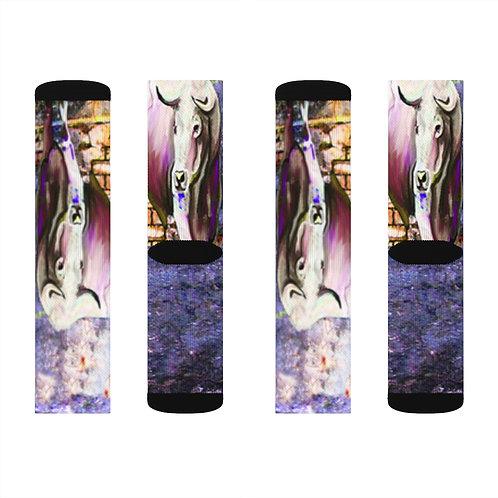 Sublimation Socks with Original Art by Rita #14