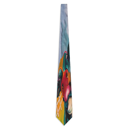 Necktie with Original Art by Rita #15