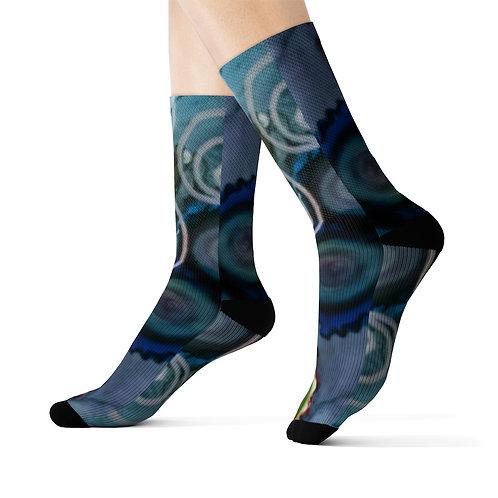 Sublimation Socks with Original Art by Rita #9