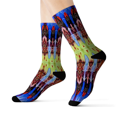 Sublimation Socks with Original Art by Rita - #20