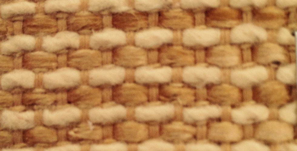 Gold and Natural Woven