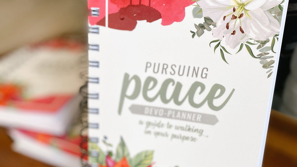 Season Two Pursuing Peace Devo-Planner