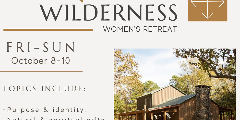 Out of the Wilderness: A Retreat for Women