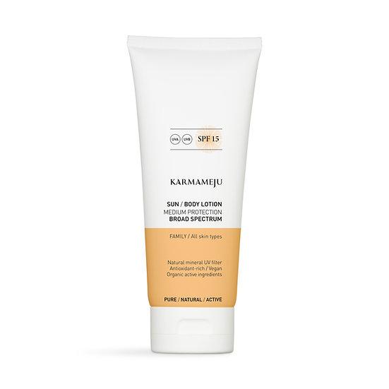 Sun Body lotion SPF15 200ml