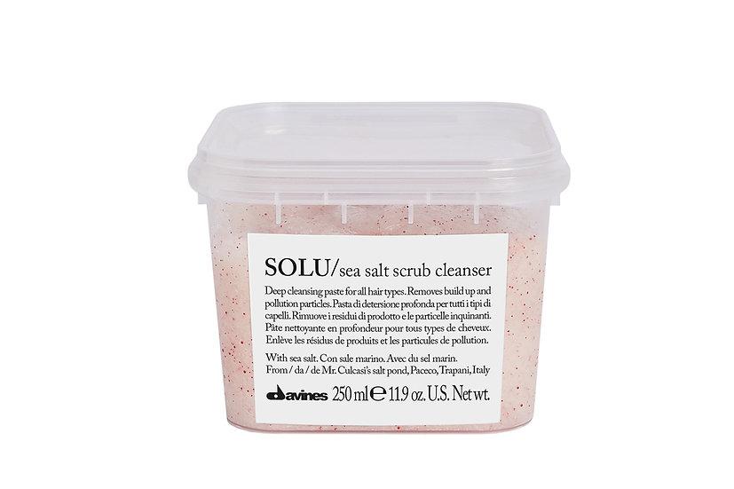SOLU / sea salt scrub cleanser