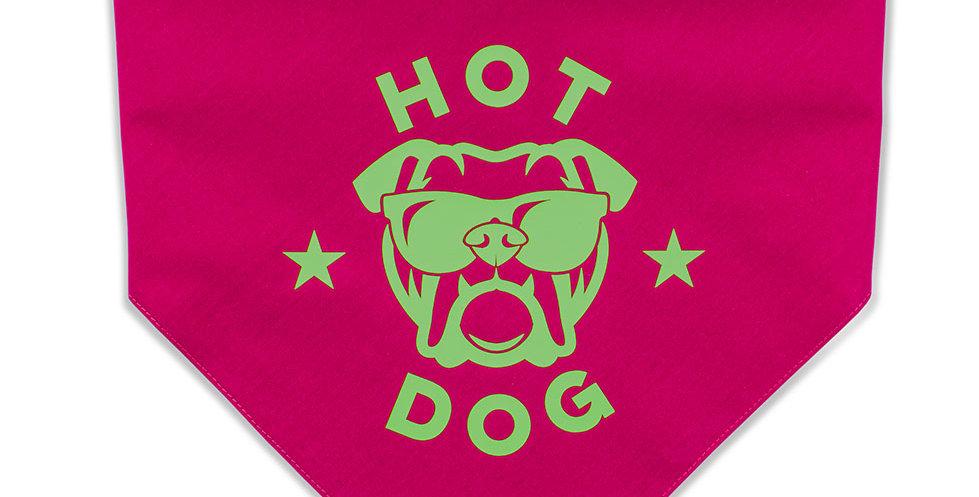 HALSTUCH Hot Dog Rot