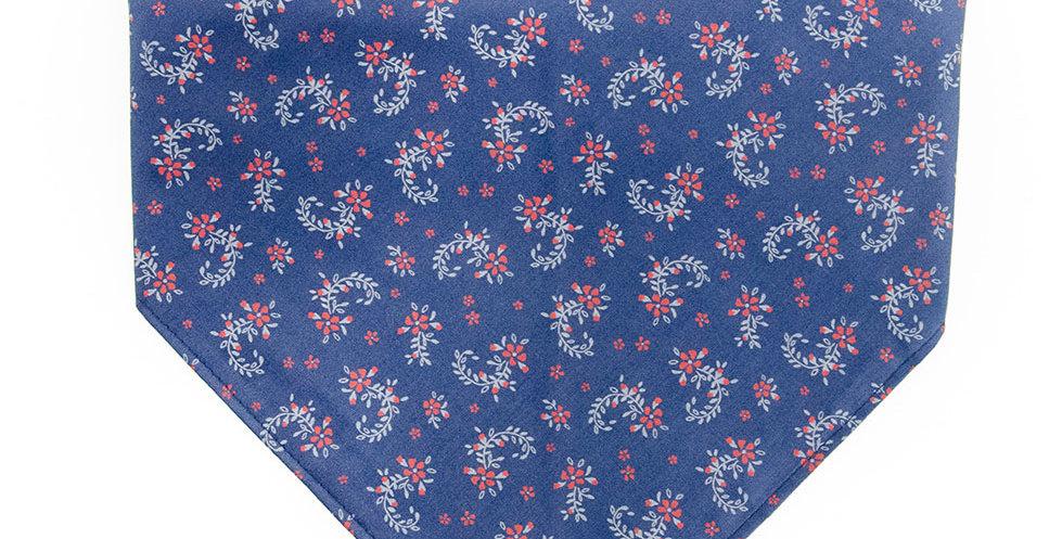 Halstuch, Bandana von Duftmarke für Hunde in blau