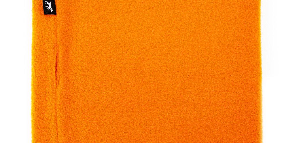 Loopschal für Hunde von Duftmarke aus Fleece in orange