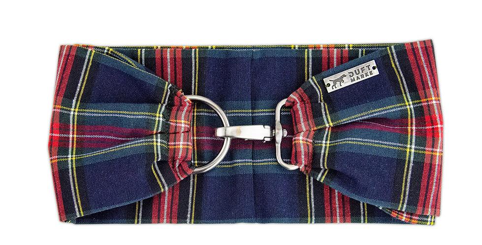 Halsband, Schal für Hunde von Duftmarke mit Karo Muster