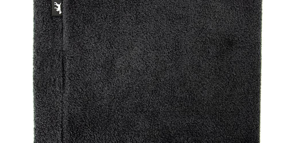 Loopschal für Hunde von Duftmarke aus Fleece in schwarz