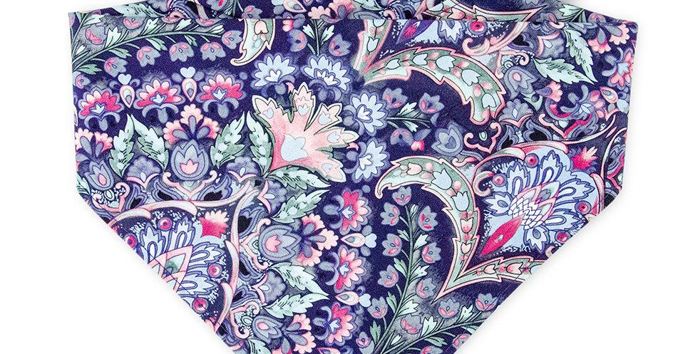 Halstuch, Bandana für Hunde von Duftmarke mit Orient Muster in blau und Flida