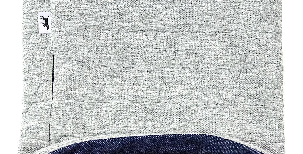 Loopschal für Hunde von Duftmarke mit Sternen Muster weich für den Winter