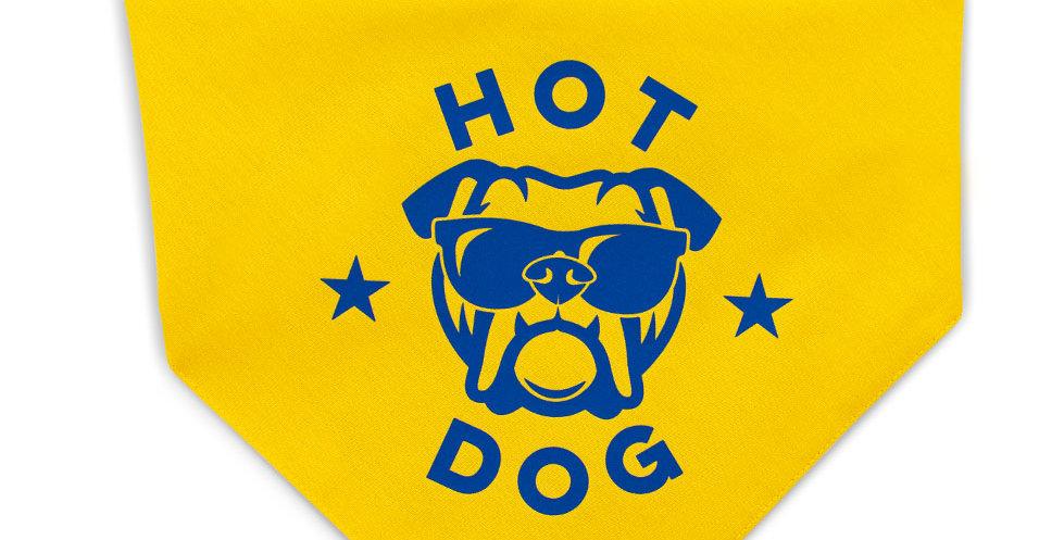 HALSTUCH Hot Dog Gelb
