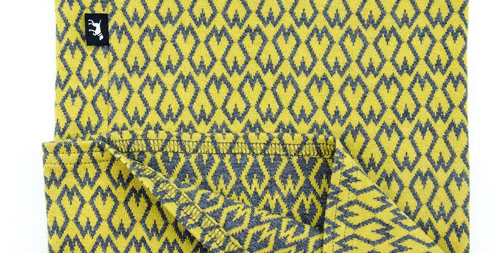 Loopschal für Hunde von Duftmarke Senf Gelb total Modern
