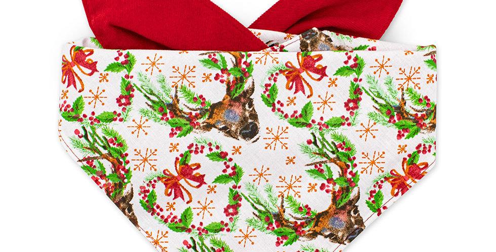 Halstuch für Hunde von Duftmarke für Weihnachten