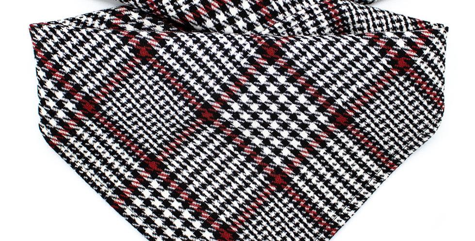 Hundehalstuch von Duftmarke aus elastische Stoff mit Karo Muster