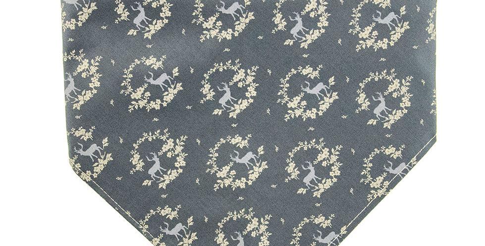 Halstuch, Bandana von Duftmarke für Hunde zum Oktoberfest in grau