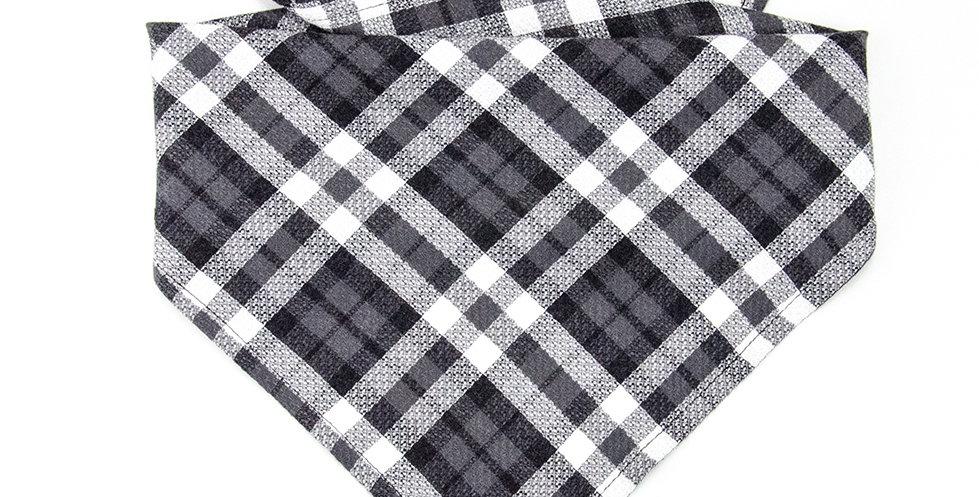 Halstuch, Bandana von Duftmarke für Hunde mit Karro Muster