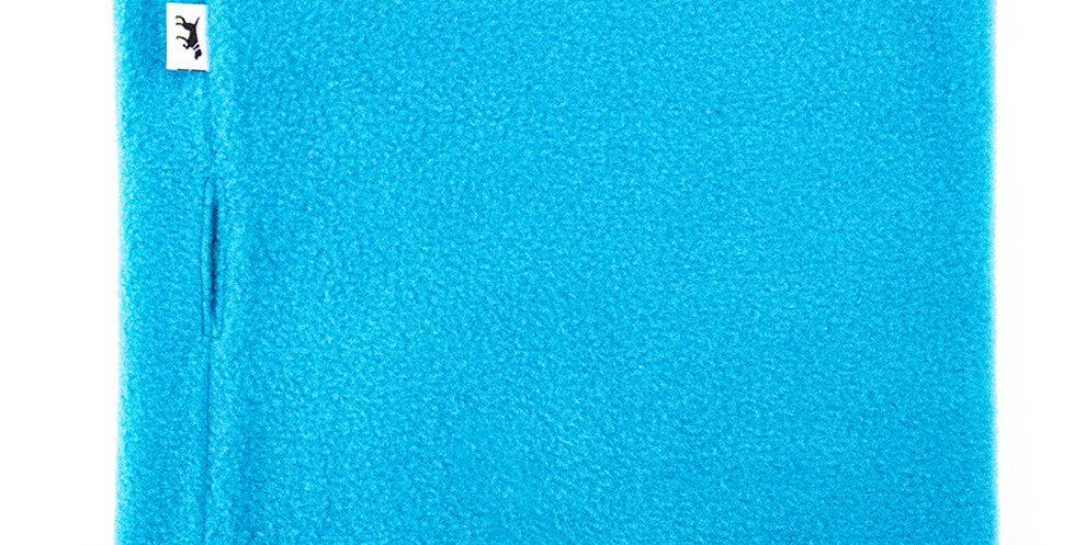 Loopschal für Hunde von Duftmarke aus Fleece in blau