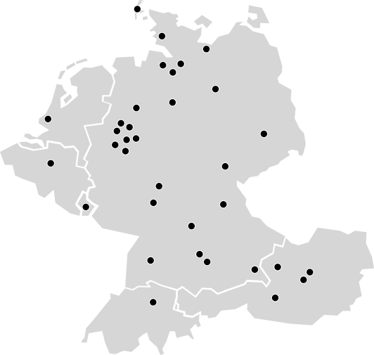 Duftmarke Karte Stores
