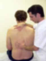 Manual Medicine thoracic spine articulation