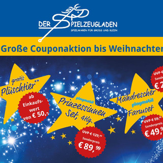 Weihnachtscoupon Aktion