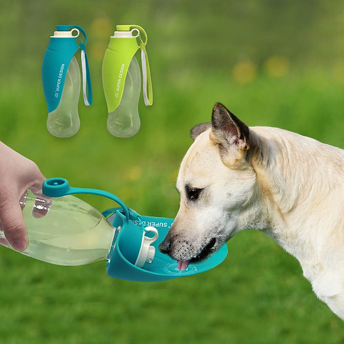 Portable Pet Dog Water Bottle Travel Puppy Drinking Outdoor Dog Water Dispenser
