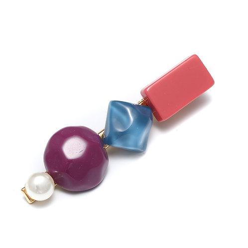 Coloured Stone Clips