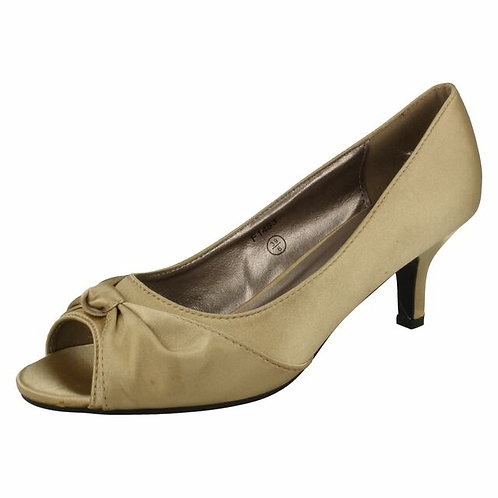 Gold Taupe Shoes