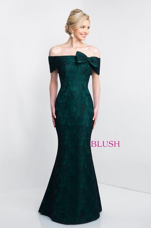 Mermaid Off-the-shoulder Lace Evening Dress