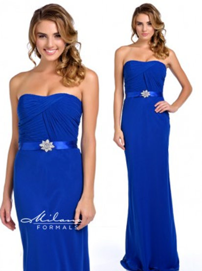 Beautiful Blue Chiffon Dress