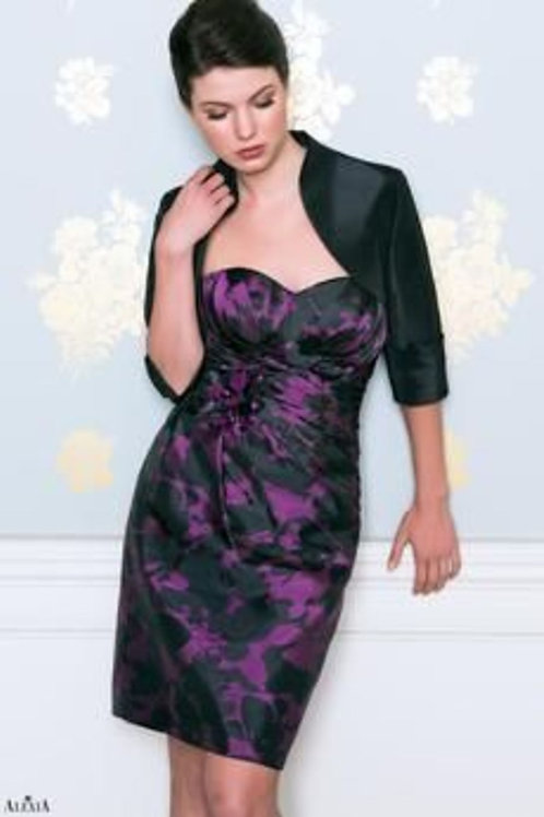 Taffeta Strapless Occasion Dress