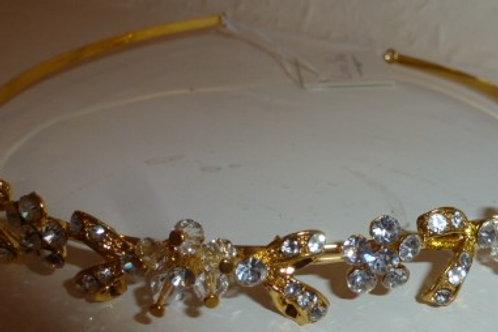Crystal Flowers Tiara