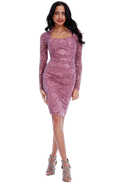 Floral Lace Occasion Dress