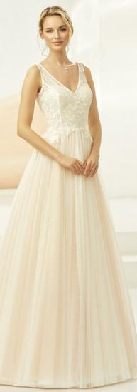 Bianco Evento Harper Champagne Dress