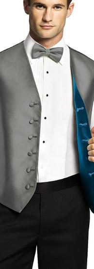 Reversible Tuxedo Vest