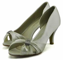 Peep Toe Court Shoes