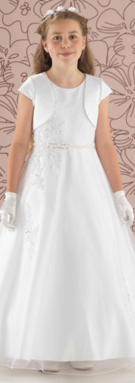 Linzi Jay Alexa Flower Girl or First Comunion with jacket