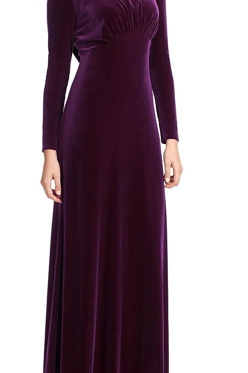 Rafaella Velvet Long Sleeved Dress