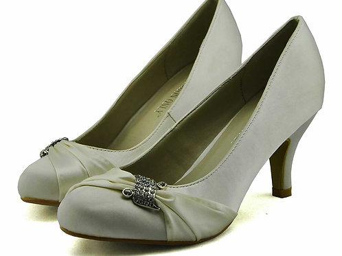 Satin Court Shoes