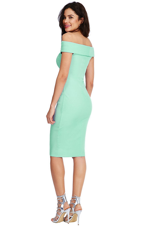 Fitted Stretchy Sleeveless Dress