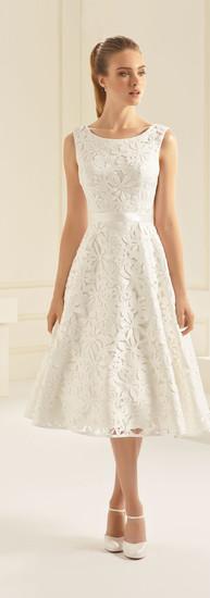 Bianco Evento T-length Dress.