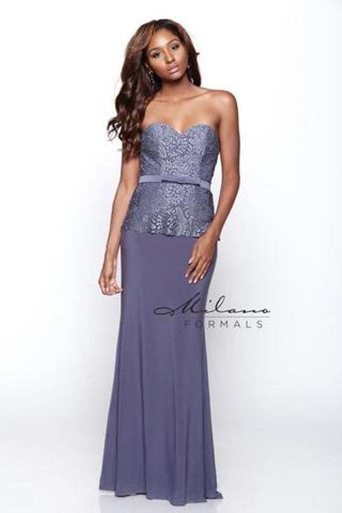Strapless Sweetheart Jersey Dress